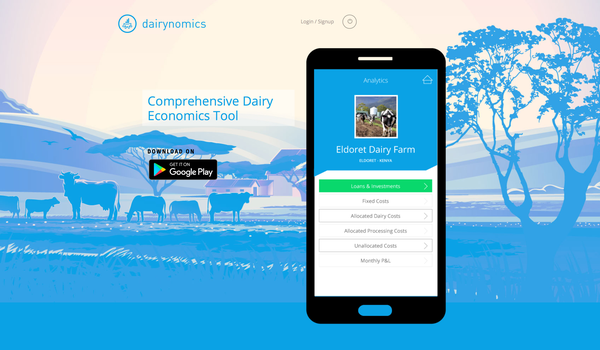 Dairynomics, a simple and reliable tool for calculating cost price of milk.